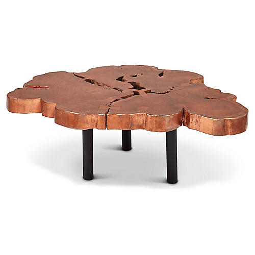 Aeris Coffee Table, Copper