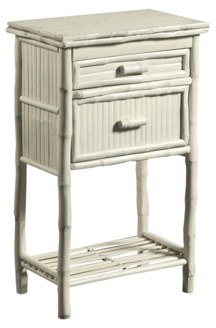 Imogen 2-Drawer Side Cabinet, White
