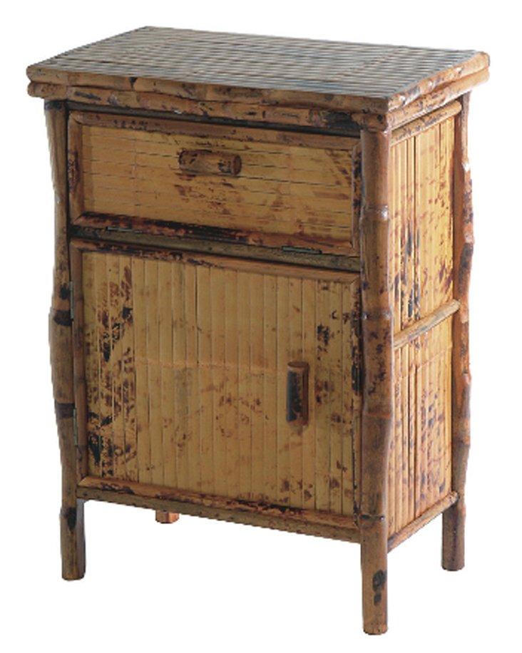 Frances Side Cabinet, Antiqued Tortoise