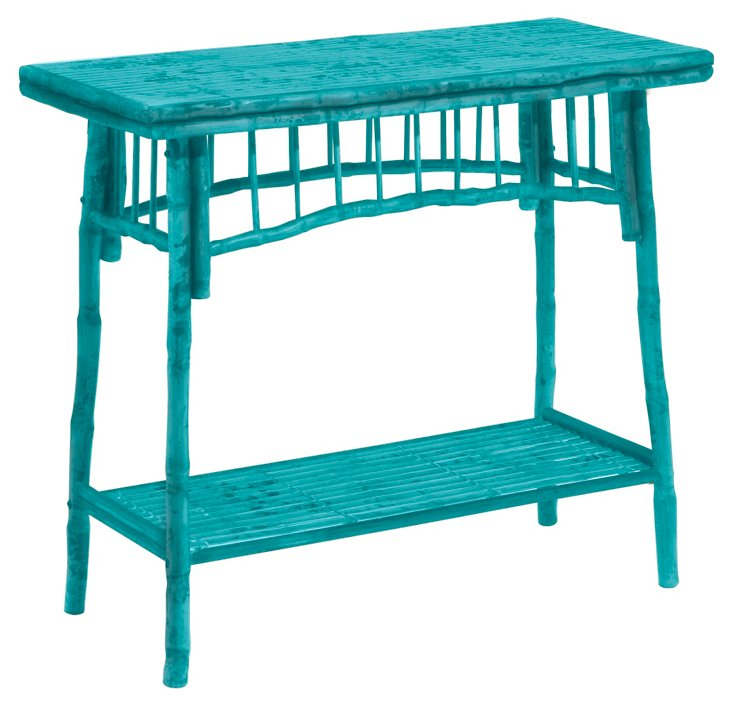 Flynn Table, Turquoise