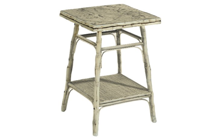 Pearl Square Table, White