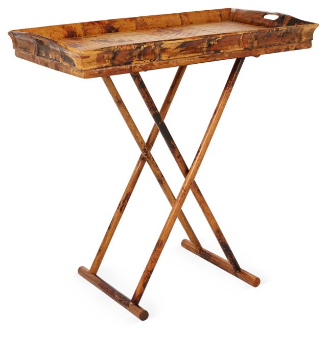 Bowler Tray Table