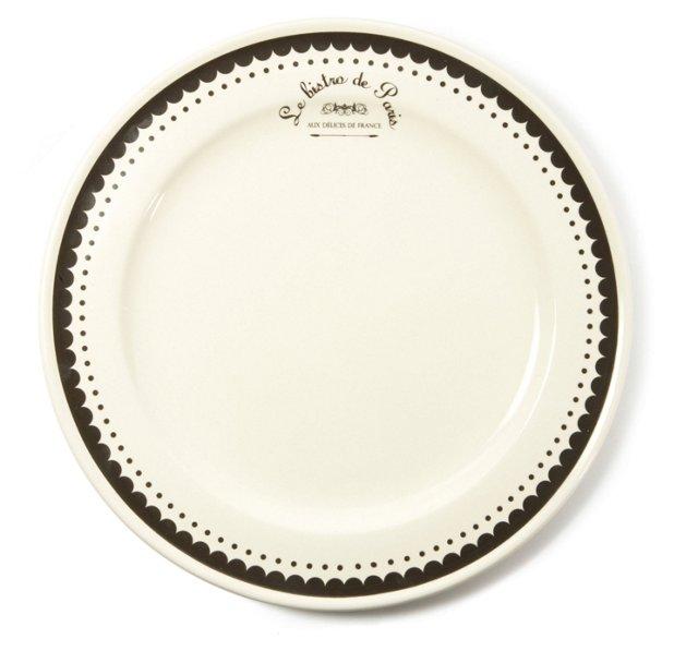 S/4 Parisian Dinner Plates