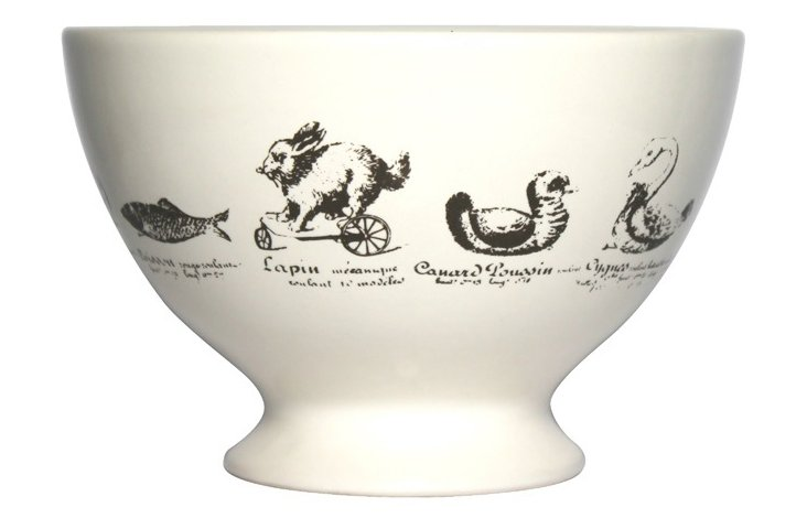 S/6 Animaux Bowls