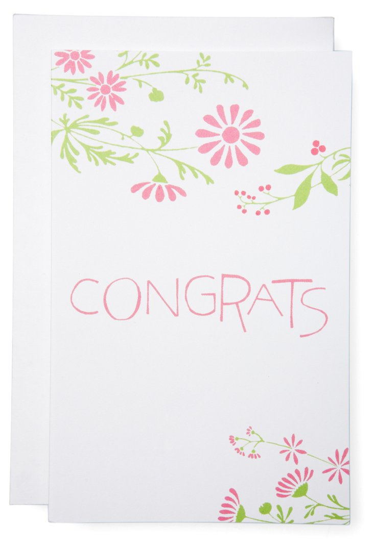S/6 Congrats Summerfield Cards