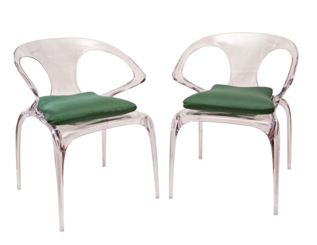 Ava Dining Chairs, Pair