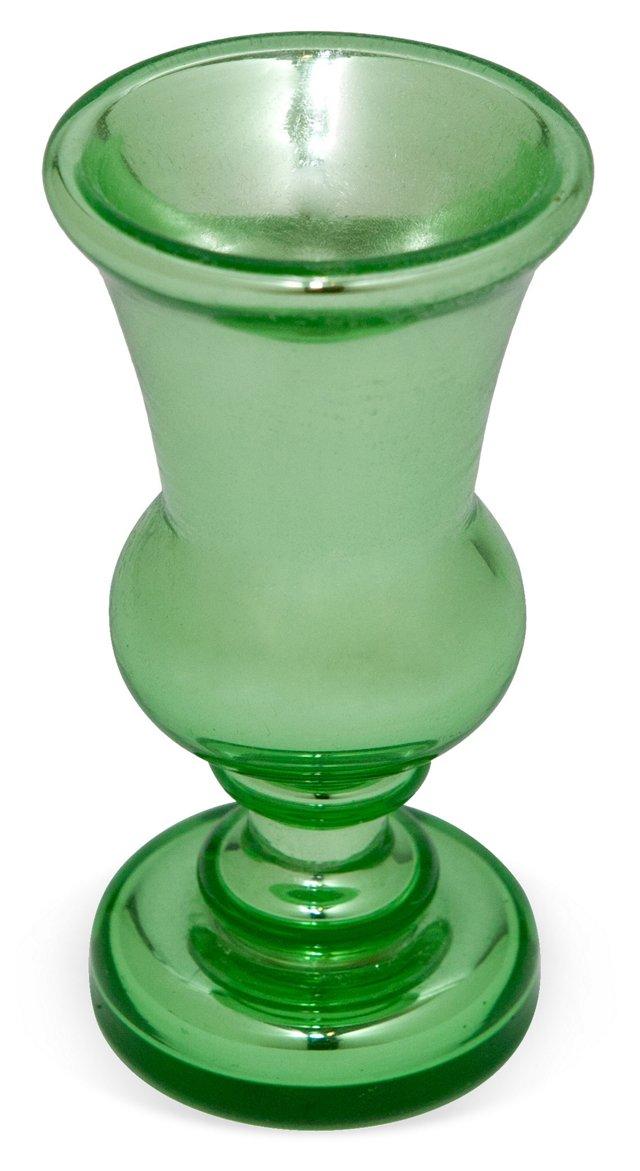 Green Mercury Goblet