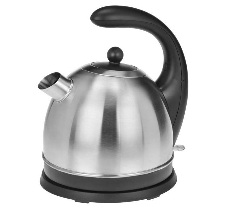 Dome Jug Kettle, Stainless/Black