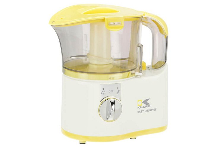 Yellow Baby Food Maker