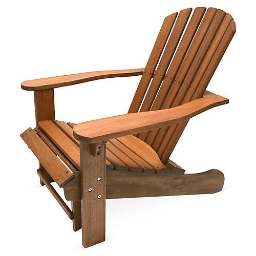 Adirondack Chair w/ Ottoman
