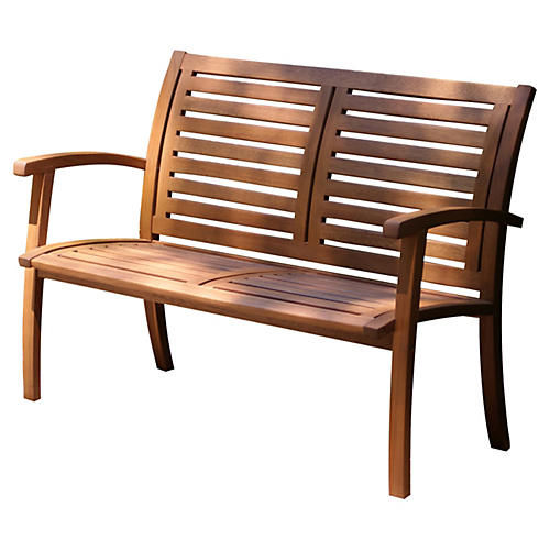 Brewster Bench, Natural
