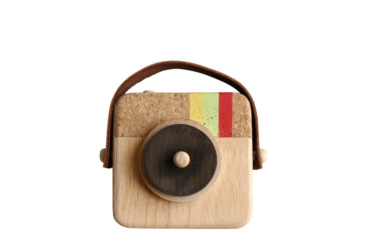 Anagram Wooden Camera, Natural