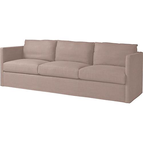 "Steady 95"" Sofa, Lilac"
