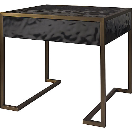 Straight-Up Nightstand, Black
