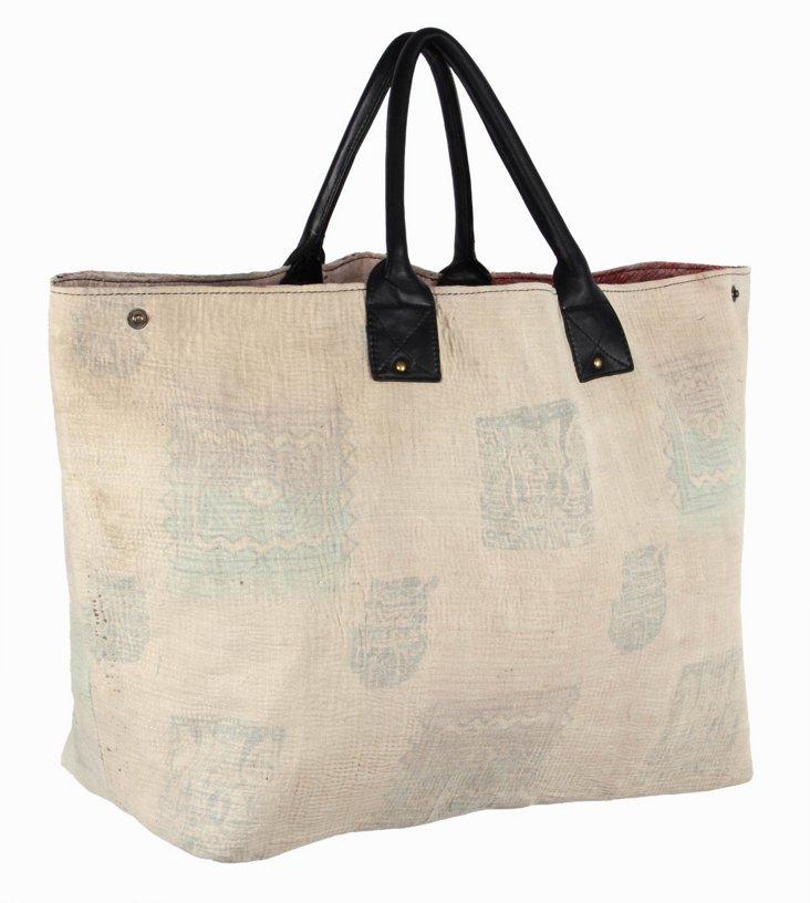 Kantha Tote Bag,  Gemma