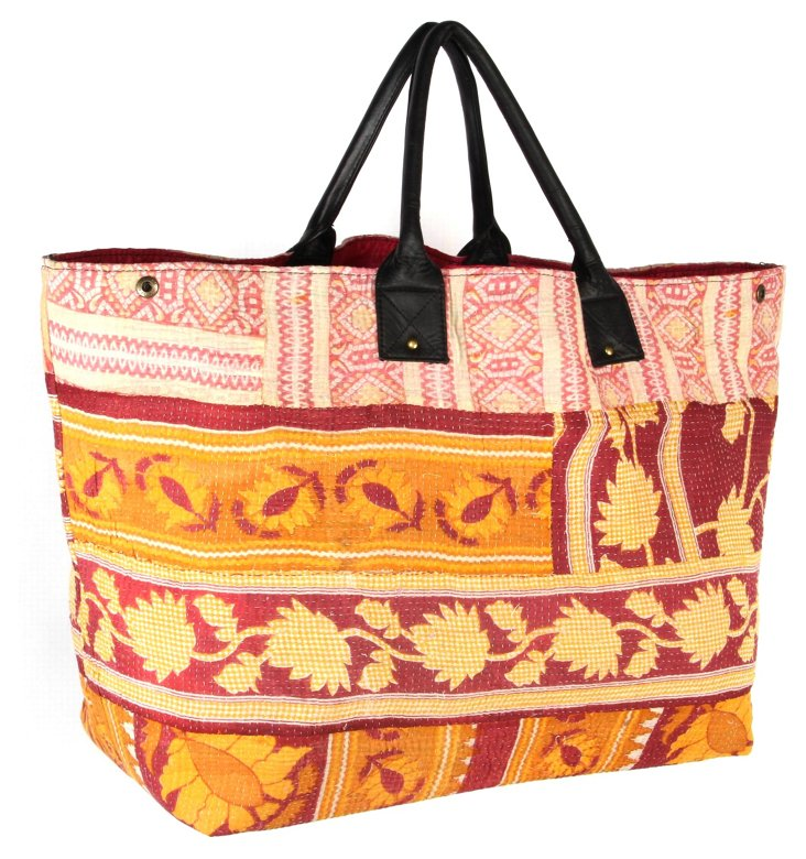 Kantha Tote,  Canberra
