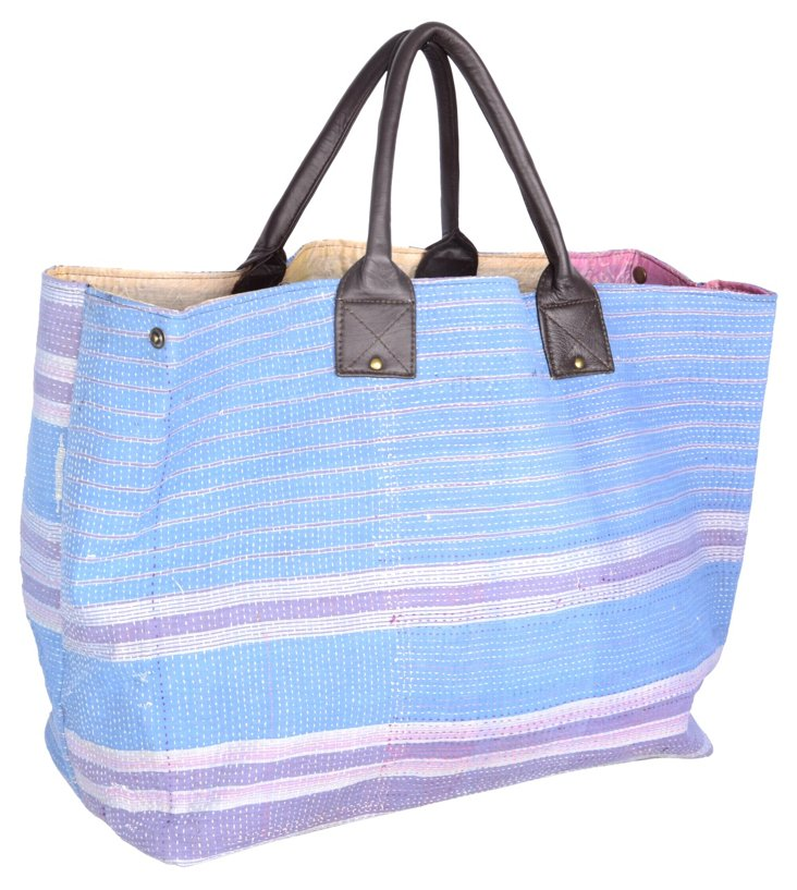 Kantha Tote,  Dickens