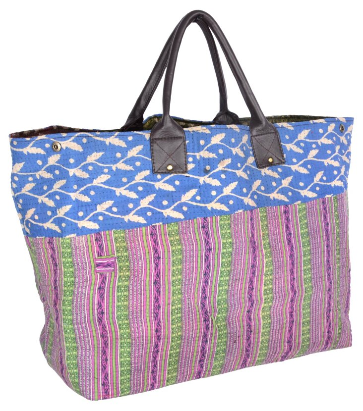 Kantha Tote,  Virginia