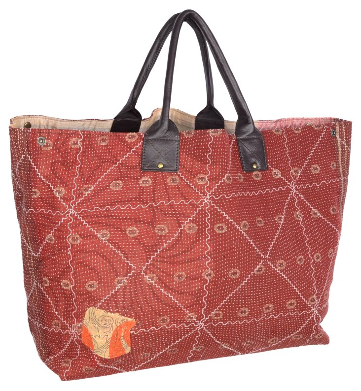 Kantha Tote,  Cullen