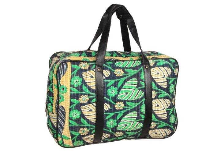 Kantha Overnight Bag, Hudson
