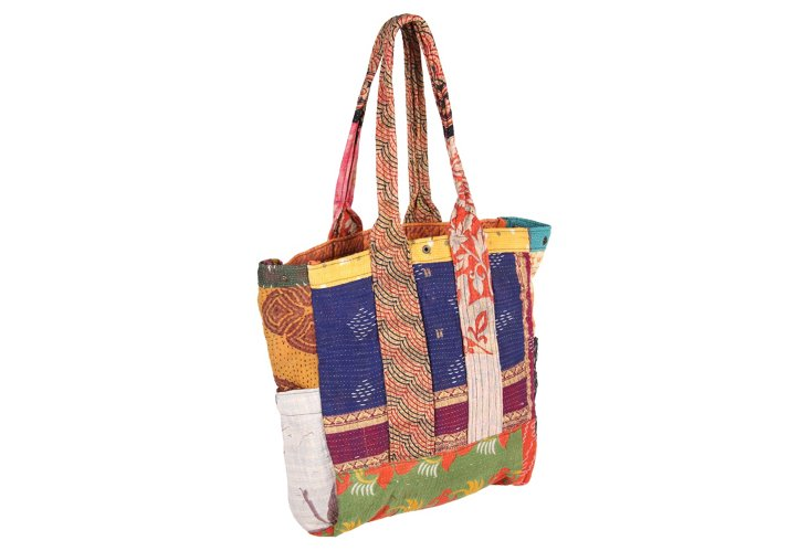Kantha Multipatch Tote, Indore
