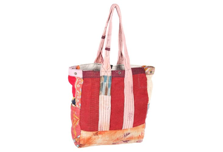 Kantha Multipatch Tote, Vesey