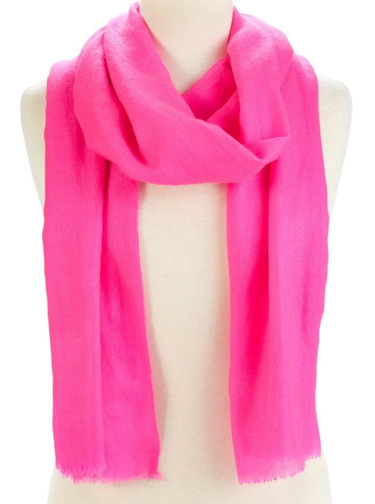 Cashmere Pashmina, Neon Pink
