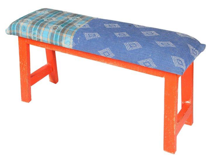 Talulah Bench, Blue/Multi