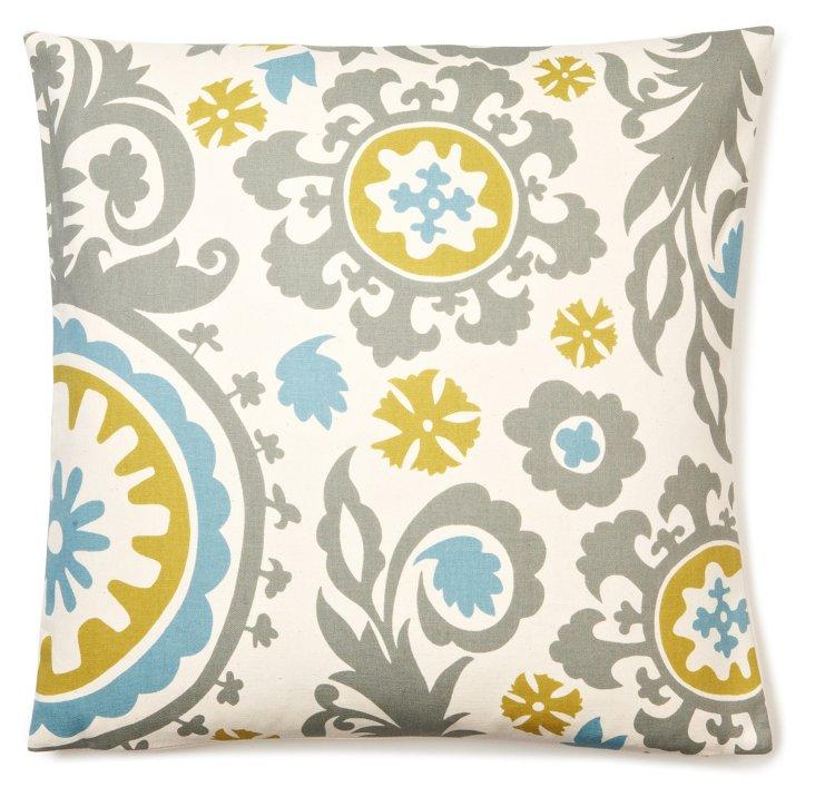 Suzani 20x20 Pillow, Multi