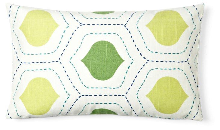 Seedling 12x20 Pillow, Green