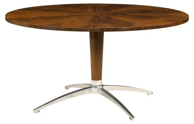 "DNU disc Sleek 60"" Round Dining Table"