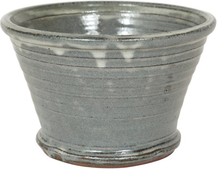 Blue Ceramic Pot I
