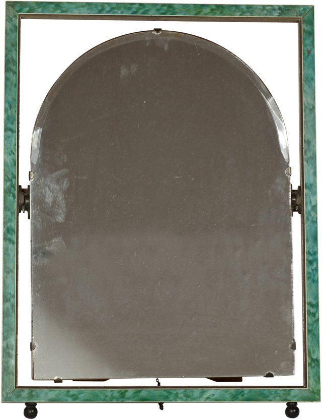 19th-C. Lady's Dressing Table Mirror