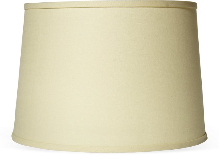 Linen Lampshade, Cream