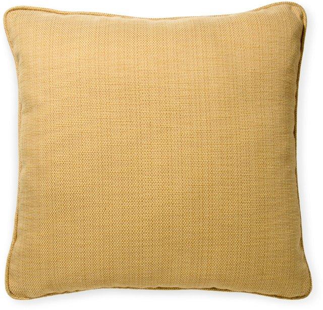 2-Sided Woven Linen Pillow