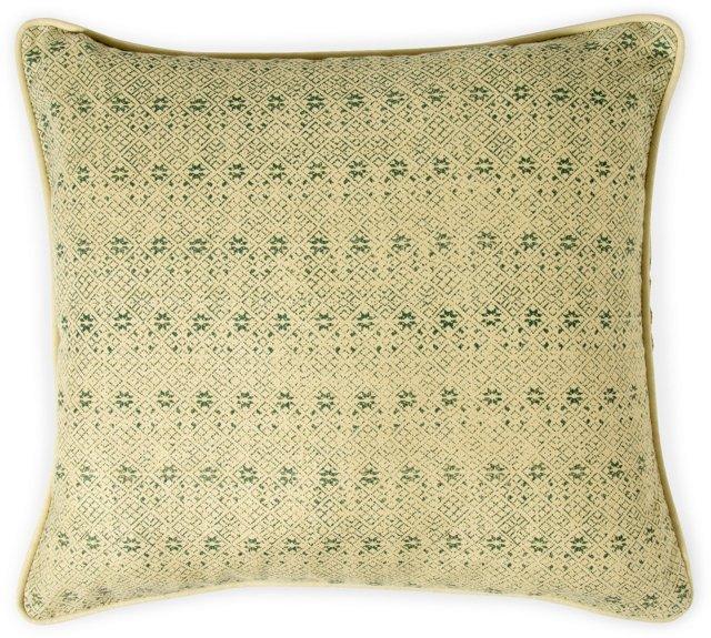 2-Sided Zazu Pillow, Forest