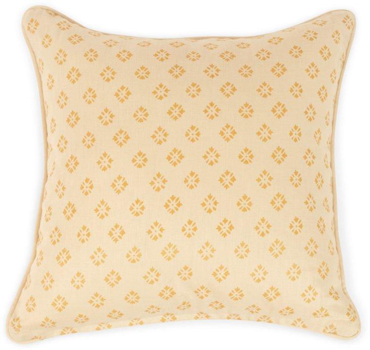 2-Sided Sidone Pillow, Wheat