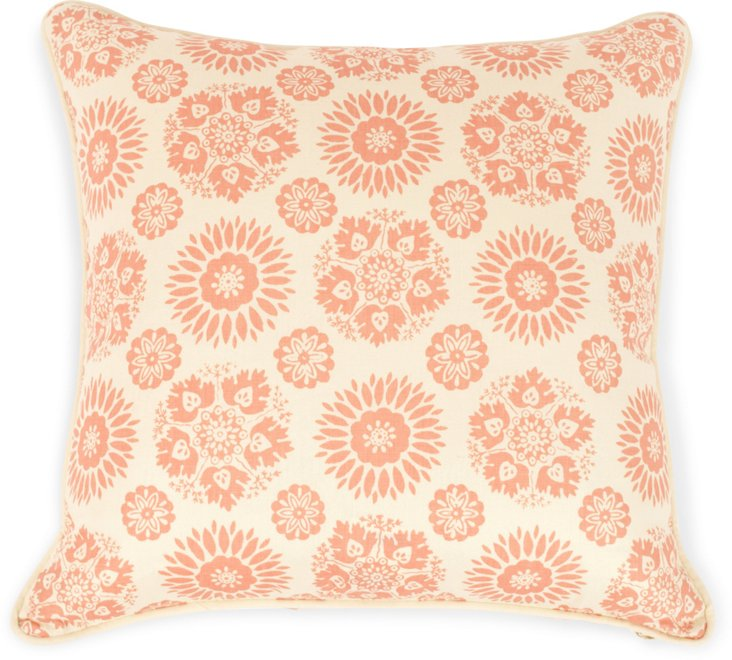 2-Sided Lola Pillow, Coral