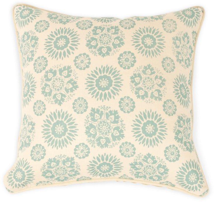 2-Sided Lola Pillow, Pistachio II