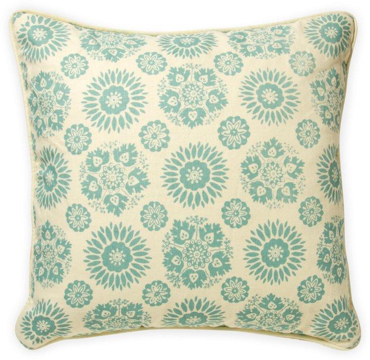 Lola Sidone Pillow, Pistachio