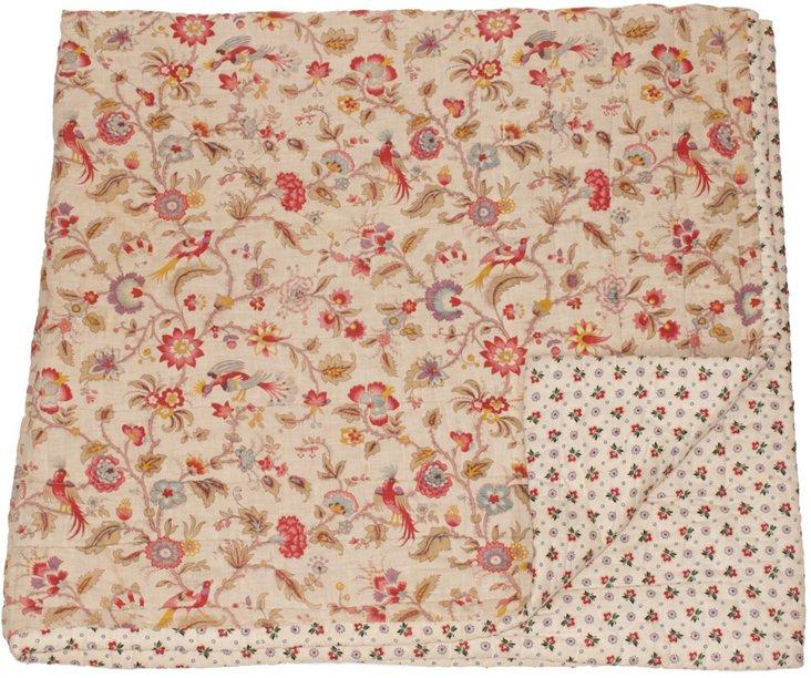 Provençal Floral Quilt