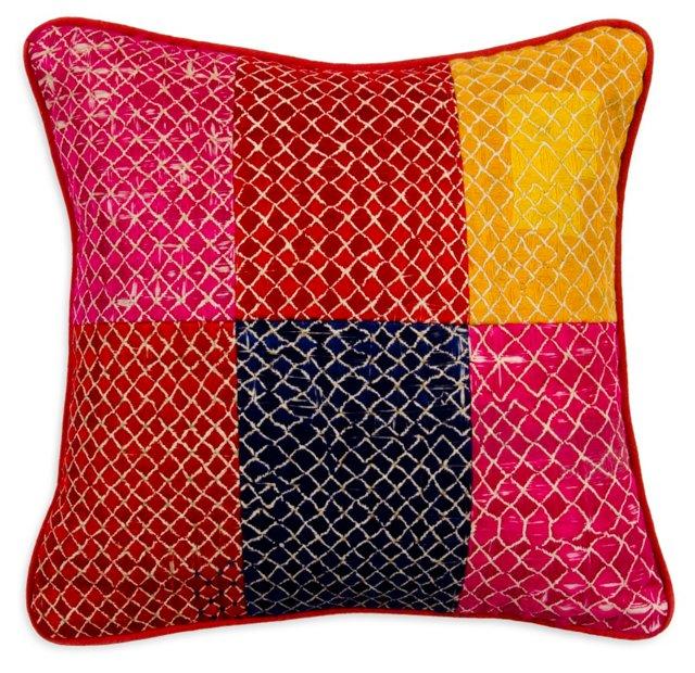 Vintage Patch Pillow