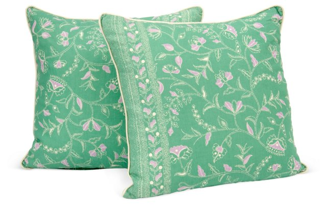 Greta Double-Sided Pillows, Pair