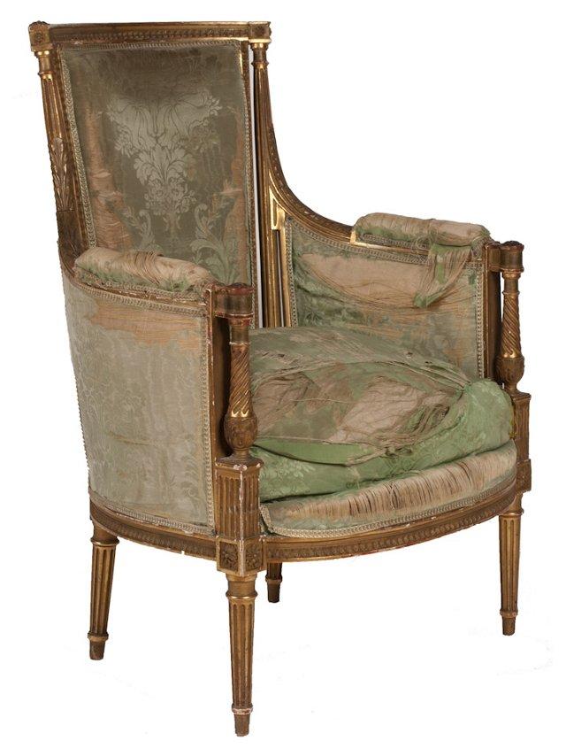 19th-C. Provençal Side Chair