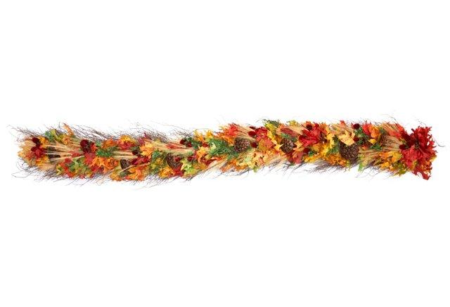 6' Harvest Garland, Dried