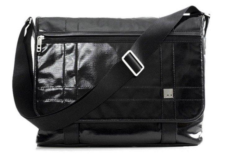 Messenger Bag, Wet Black