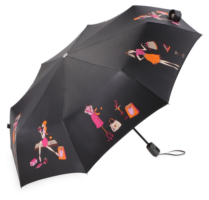 Compact Umbrella, Shopper Girl