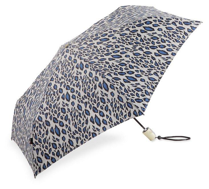 Lightweight Umbrella, Blue Snow Leopard
