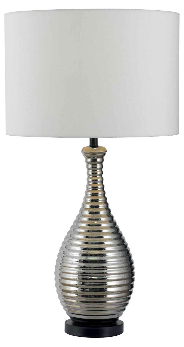 Celion Table Lamp, Chrome