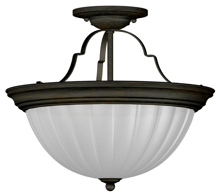 Grafton 2-Light Semi-Flush
